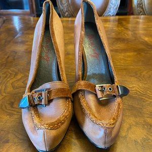 Miss Sixty loafer heels